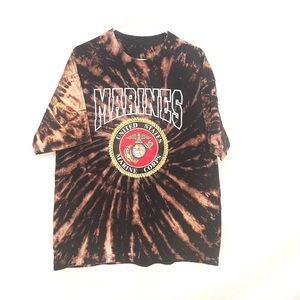 United States marines custom dyed tshirt